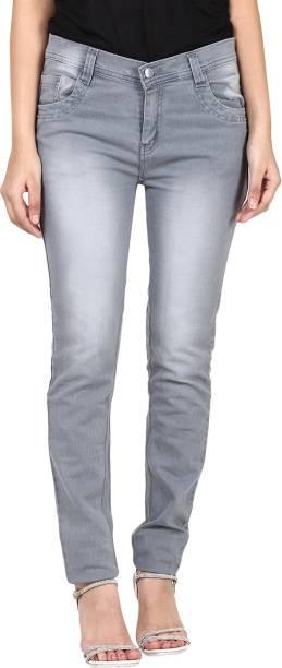 Ico Blue Star Slim Women S Grey Jeans