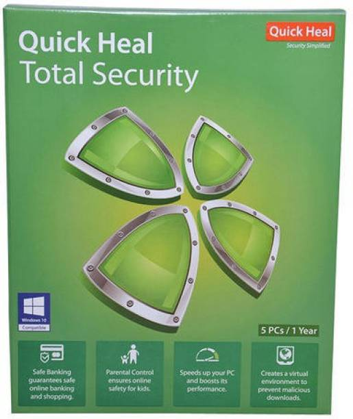 QUICK HEAL Total Security 5.0 User 1 Year
