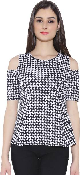 bef852d832c41 Cold Shoulder Tops - Buy Cut Out Shoulder Tops Online at Best Prices ...