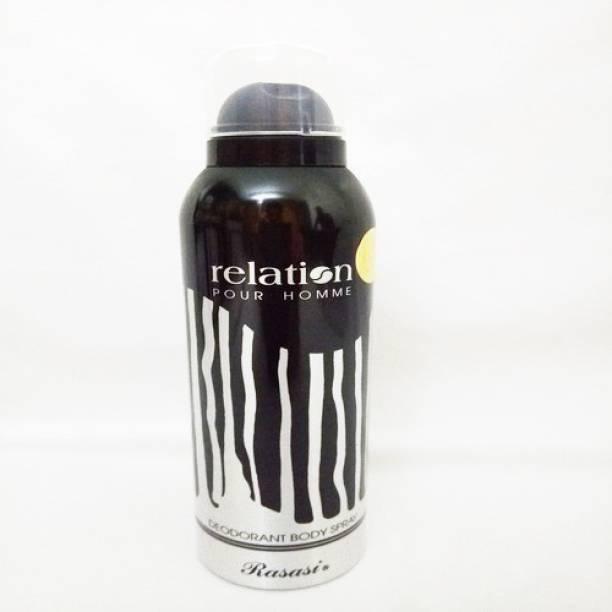 Rasasi Relation For Men Deodorant Spray - For Men