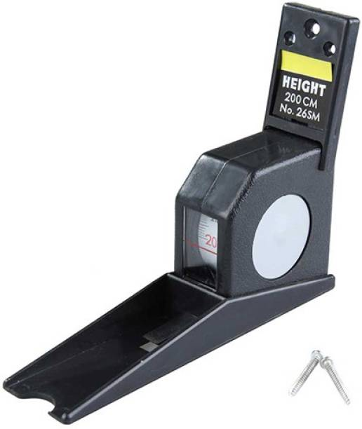 Gadget Hero's Wall Mounted Stature Scope Height Measuring Scale for School & Clinics Measurement Tape