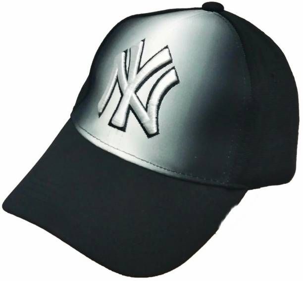 b8ad0a00947054 Friendskart Printed, Embroidered Ny Baseball Cap Two In One Colour One Size  Fits All For