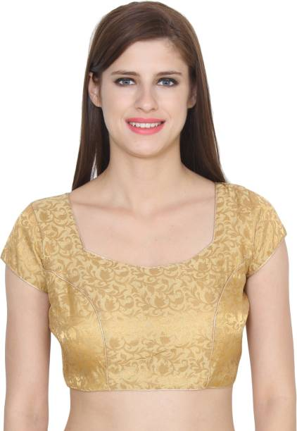 840c5b2d77c48 Gold Blouses - Buy Gold Blouses Online at Best Prices In India ...
