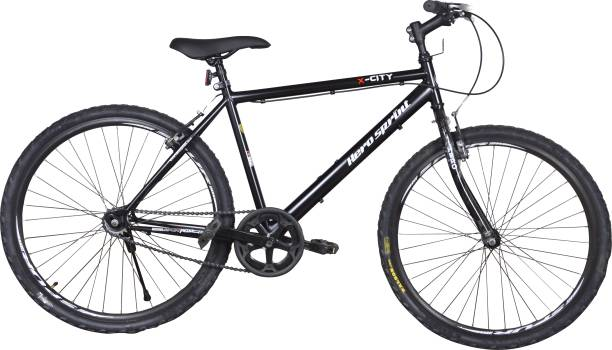 Hero X City 26 Inches Single Speed Balck 26 T Mountain/Hardtail Cycle