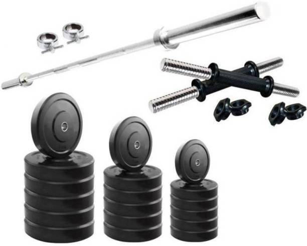 Star X 40 kg PVC weight with rod Home Home Gym Combo