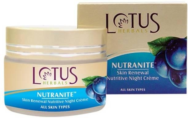 LOTUS HERBALS Nutranite Skin Renewal Nutritive Night Cream,