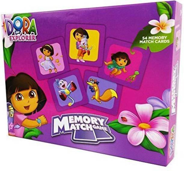 Dora The Explorer Memory Match Game 54 Cards By Gift Item