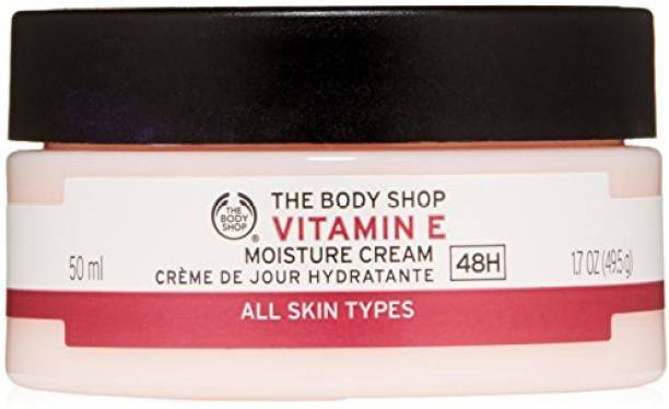THE BODY SHOP Vitamin E Moisture Cream (packaging May Vary)