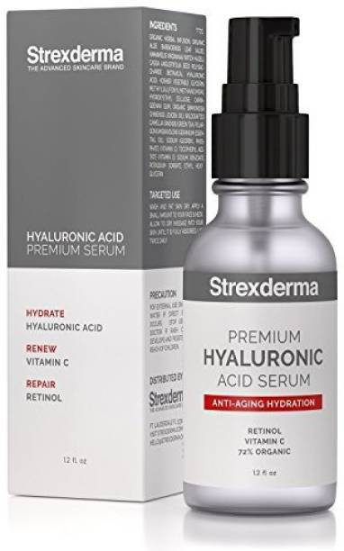 Strexderma Hyaluronic Acid Serum for face Best Moisturizer with Vitamin C plus