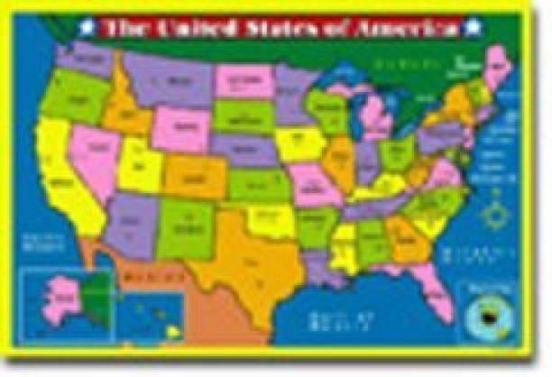 Us Map States Capitals Toys Buy Us Map States Capitals Toys Online