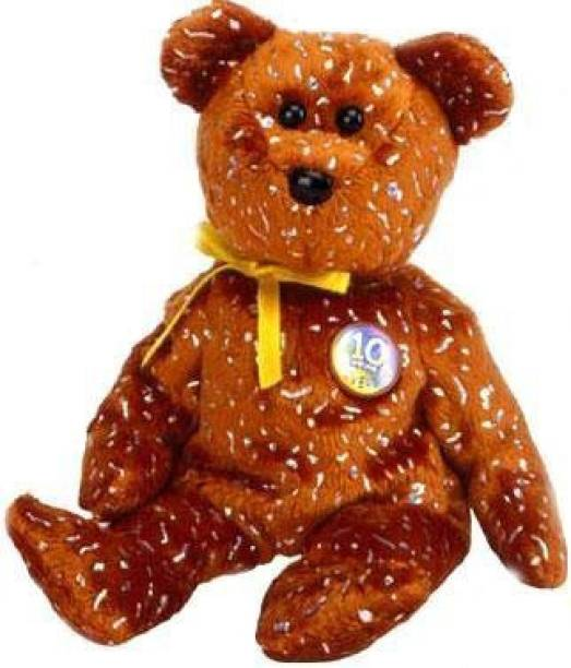 6aa5c6e0860 ty Beanie Baby - Decade The Bear ( Version - Internet Exclusive) - 2 inch