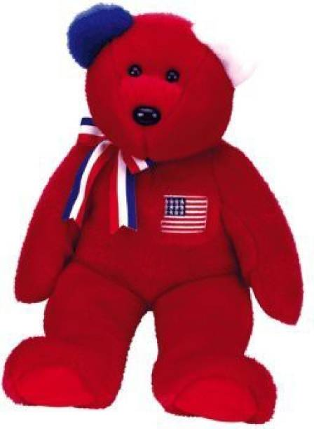 82bff1615fb Beanie Buddies Ty - America The Bear ( Version ) - 4.4 inch