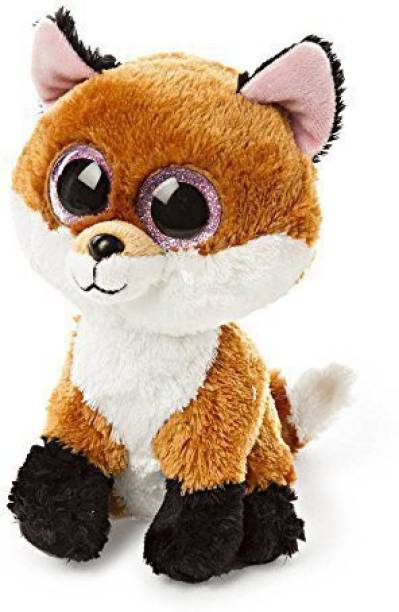 35a305d1066 Claire s Accessories Ty Beanie Boos Plush Slick The Fox - 6 1 2