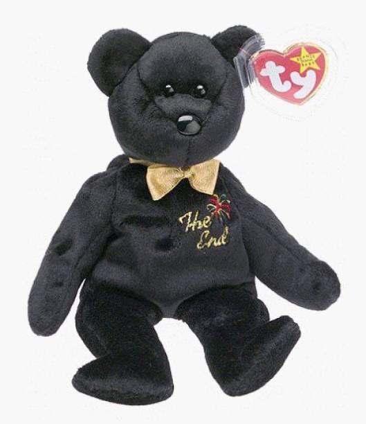 cb79dda8f33 ty Beanie Babies - The End Teddy Bear  Holiday Gifts  - 3 inch