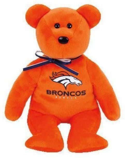 ty Denver Broncos Beanie Baby Bear - 2.1 inch 3b47b7a9d0d9