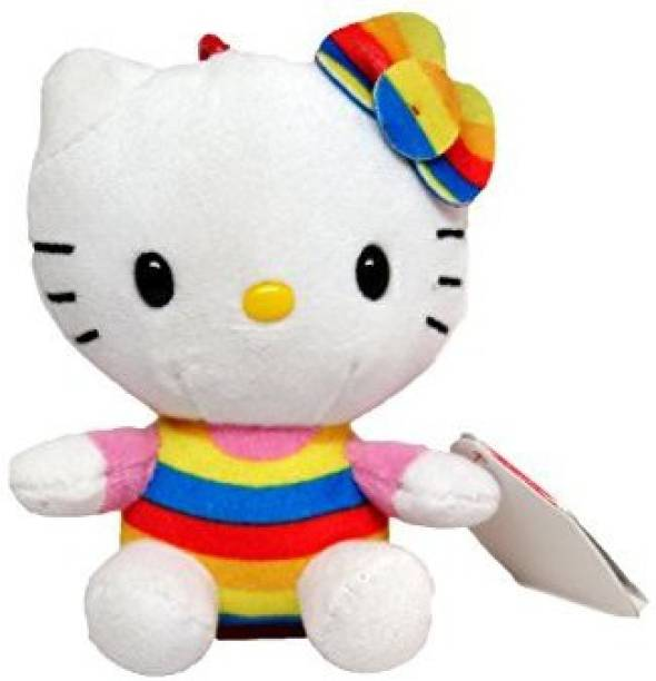 ebf084b8635 TY Beanie Babies Hello Kitty Cupcake Clip