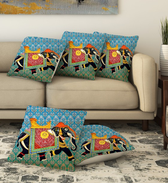 LA VERVE Printed Cushions Cover