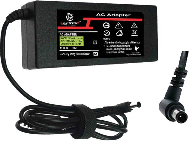 LaptrusT Adapter For 5sony19.5V 4.74A 90 W Adapter