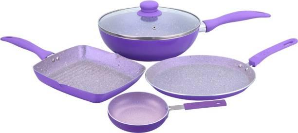 WONDERCHEF Celebration Purple Induction Bottom Cookware Set