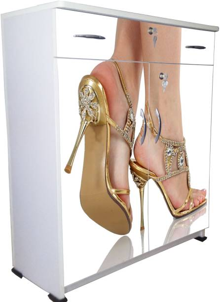 BigSmile Furniture Engineered Wood Shoe Rack 4 Shelves  BigSmile Furniture Shoe Rack