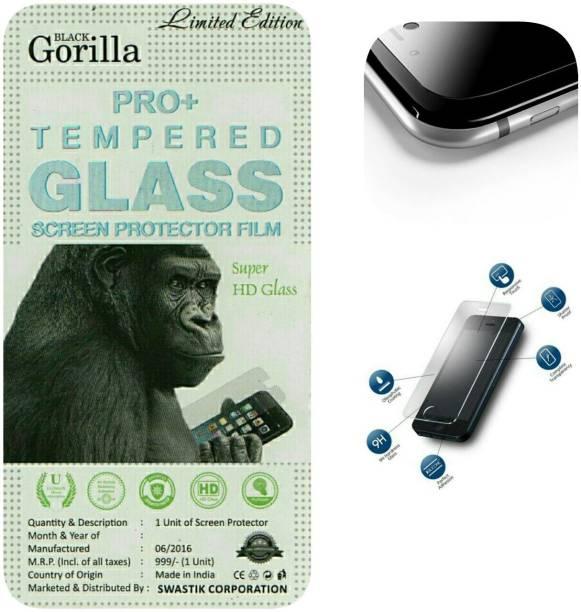BLACK GORILLA Tempered Glass Guard for LENOVO A3900