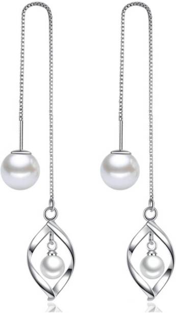 4c46382ff Thread Earrings - Buy Thread Earrings online at Best Prices in India ...