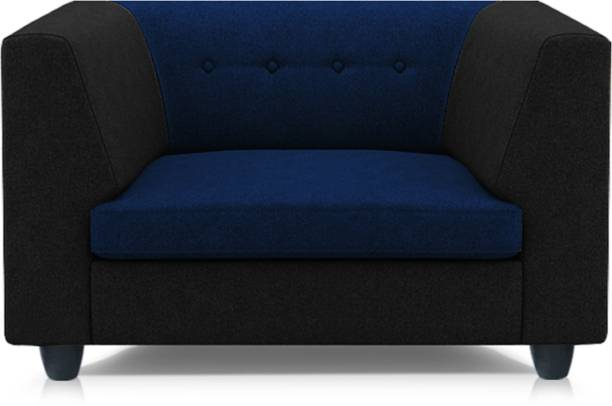 Adorn Homez Flamingo Fabric 1 Seater  Sofa