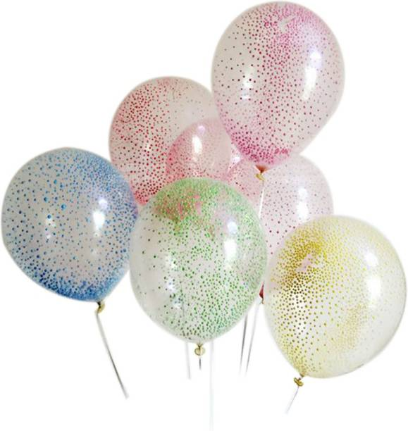 1563d8124 PartyballoonsHK Printed Static Foam Filled Transparent Latex with Free  Balloon Stick Balloon
