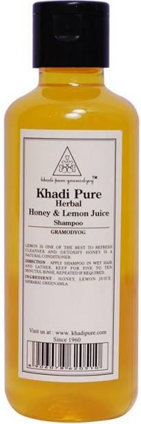 Khadi Pure HONEY LEMON JUICE SHAMPO