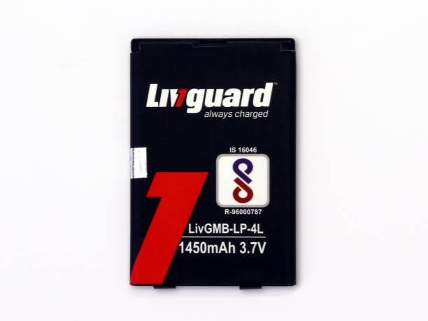 Livguard Mobile Battery For  Nokia Models N97, E52, E55, E6, E61i, E63, E71, E72 N97 6760,Platinum A6, Hunk,Jazz lava KKt08,KKT29+,KKT28s,KKT2i,Karbonn K58,KKT775,Lava KKt35,B5, & Many Other Models running on LP-4L BP 4L