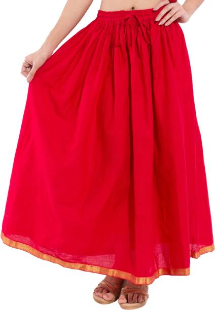 cf7b46b2cd Red Skirts - Buy Red Skirts Online at Best Prices In India ...