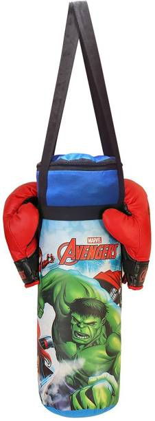 MARVEL Avengers Gloves and Punching Bag Set for Boxing