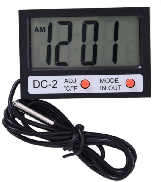 LCD Digital Thermometer Hygrometer Moisture Meter and Wired Temperature with SHJ