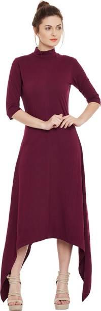f02d2dbdae Purple Dresses Skirts - Buy Purple Dresses Skirts Online at Best ...