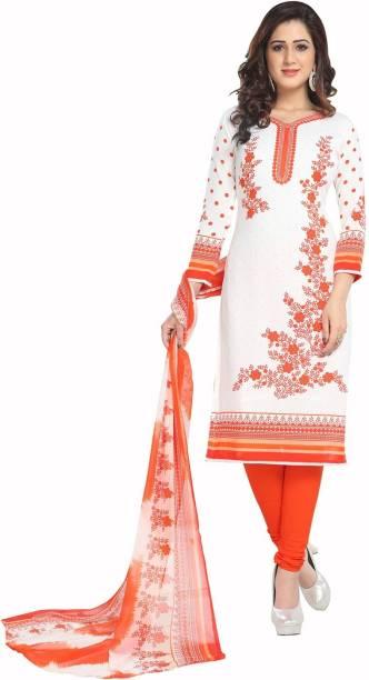 bb47b082ef Jevi Prints Synthetic Floral Print Salwar Suit Dupatta Material