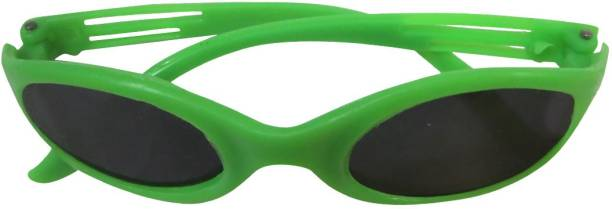 476e0fbdf54 DCS DCS Kids Unisex Sunglasses Green Colour (2-4 years) Safety Goggles. Out  Of Stock