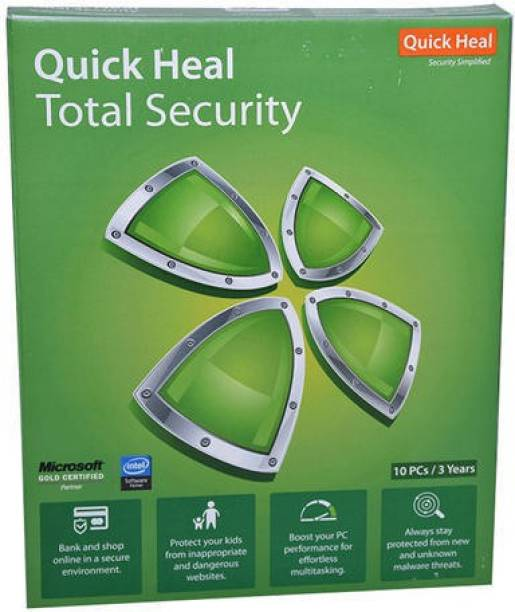 QUICK HEAL Total Security 10.0 User 3 Years