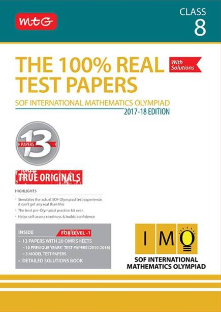 The 100% Real Test Papers (IMO) Class 8