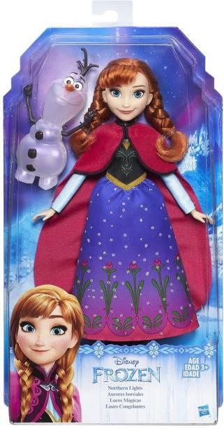 Frozen Northern Lights Fashion Doll Anna
