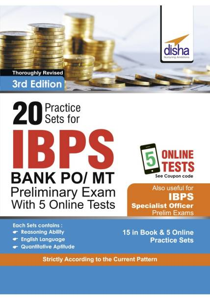Disha experts books store online buy disha experts books online at 20 practice sets for ibps po mt preliminary exam with 5 online tests 3rd edition fandeluxe Choice Image