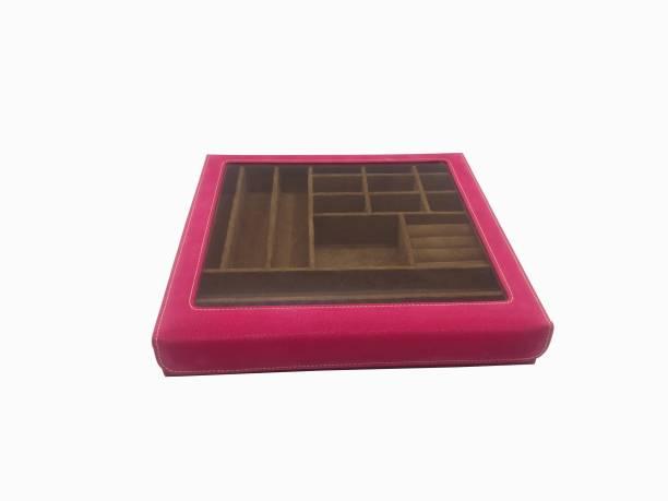 Essart 10081-Pink Makeup and Jewellery Vanity Box