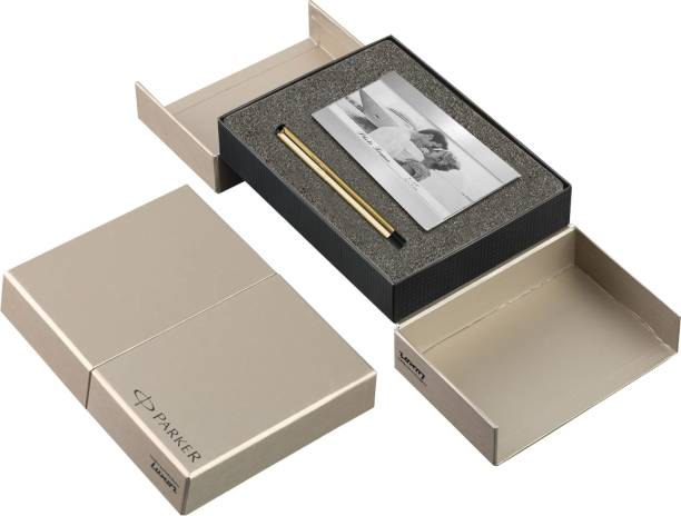 PARKER Vector Gold BP with Photo Frame Pen Gift Set