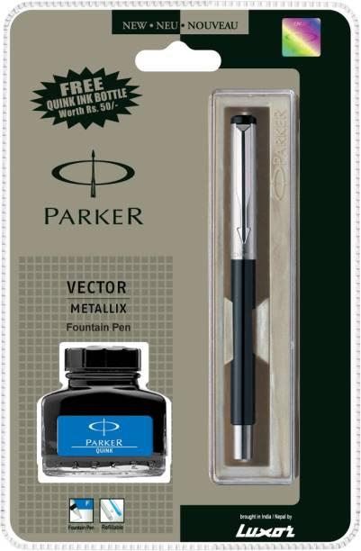 PARKER Vector Mettalix CT Fountain Pen