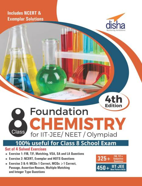 Foundation Chemistry for IIT-JEE/ NEET/ Olympiad Class 8 - 4th Edition