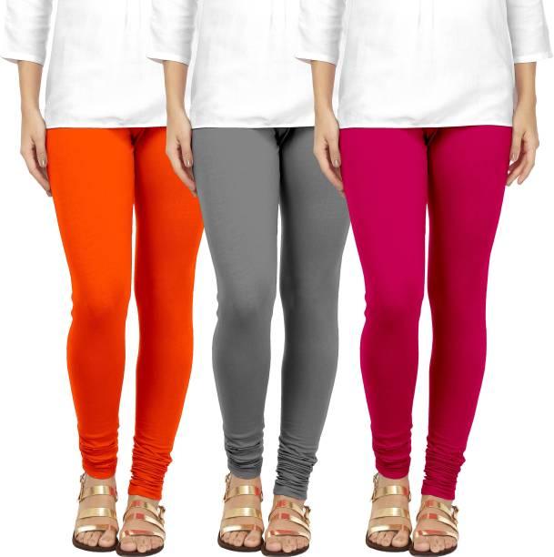 2b44b538fd1287 Grey Leggings - Buy Grey Leggings Online at Best Prices In India ...