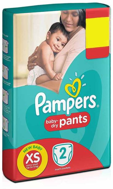 Pampers Baby-Dry Pants - New Born
