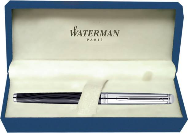 Waterman Hemisphere Deluxe Silk Black CT Fountain Pen