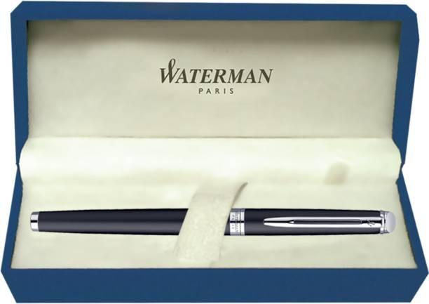 Waterman Hemisphere Matt Black CT (Fine Nib) Fountain Pen