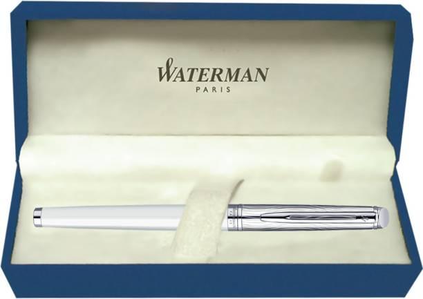 Waterman Hemisphere Dlx White CT Roller Ball Pen