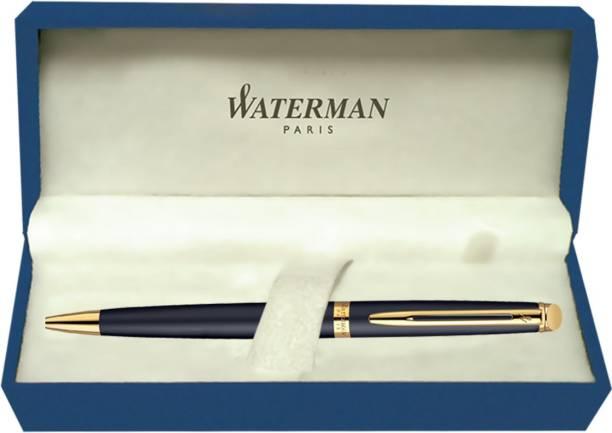 Waterman Hemisphere Matt Black GT Ball Pen
